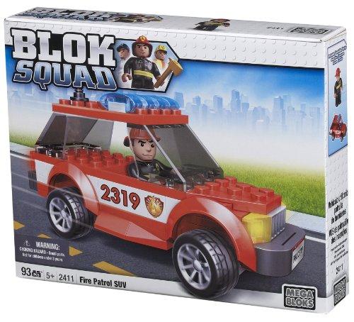 Mega Bloks Blok Squad Fire Patrol SUV, Baby & Kids Zone
