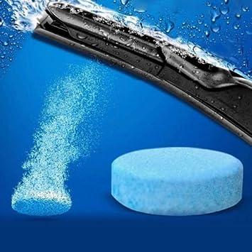 6 x pastillas efervescentes Limpieza Parabrisas Protección Lunas ...