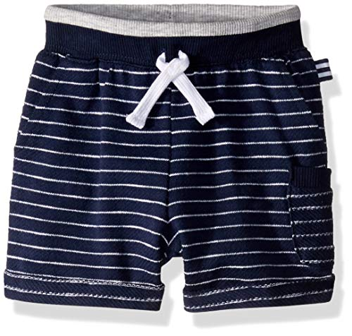 - Splendid Boys Baby French Terry Yarn Dyed Stripe Short, True Navy 12/18 mo