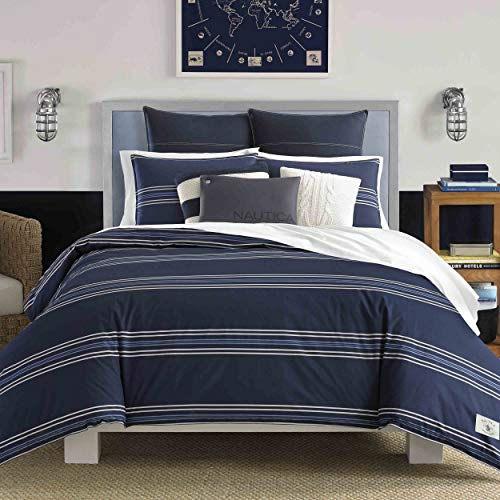 - Nautica Acton Comforter Set Twin Navy