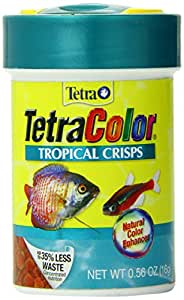 Tetra 77142 TetraColor Tropical Crisps, 0.56-Ounce, 85 ml