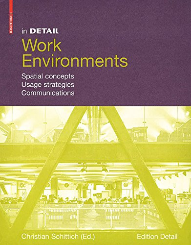 In Detail, Work Environments: Spatial concepts, Usage Strategies, Communications by Christian Schittich