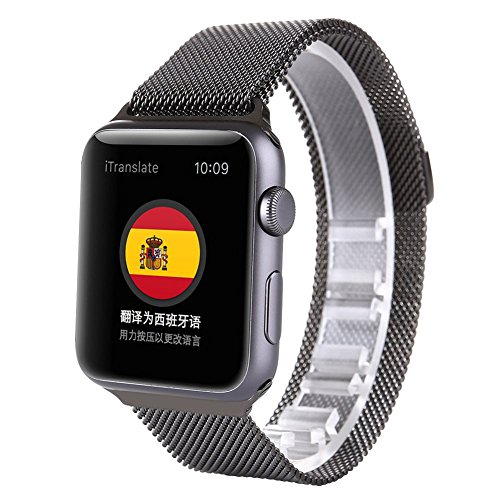 space-gray-apple-watch-42mm-mesh-band-sowell-milanese-loop-stainless-steel-bracelet-wrist-strap-smar
