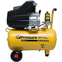 Compressor De Ar 2hp 25 Litros 8,2 220V Pés Pressure + Kit