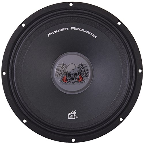 (POWER ACOUSTIK PRO.804 8-Inch PRO Audio Mid Range 4 Ohm Speaker)