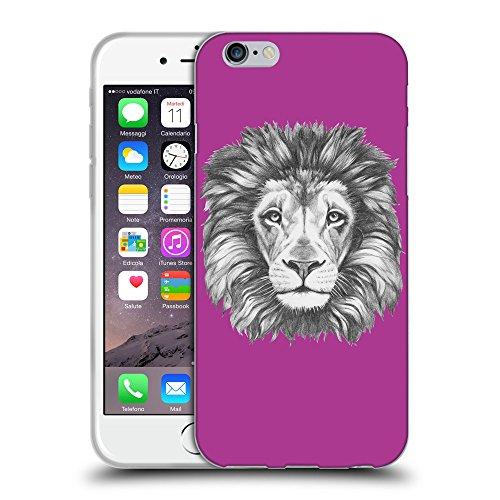 GoGoMobile Coque de Protection TPU Silicone Case pour // Q05160621 Dessin lion byzantin // Apple iPhone 7