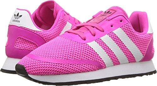 - adidas Originals Unisex N-5923 C Running Shoe, Shock Pink/White/Black, 2.5 M US Little Kid