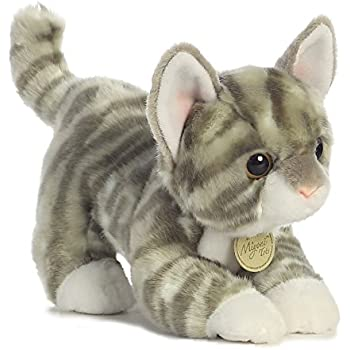 094ada4a3674 Amazon.com: Aurora World Miyoni Tots Grey Tabby Kitten Plush: Toys ...