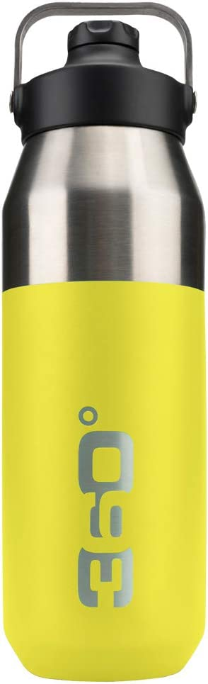 lime 360 DEGREES Wide Insulated Canister one size Narrow Mouth with Magnetic Cap Bottle 360SSWINSIP750LI unisex/_adult Unisex Adult