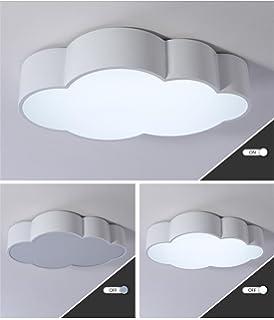 lilsn nios lmpara de techo moderno simple nube led saln dormitorio luces jardn de infantes