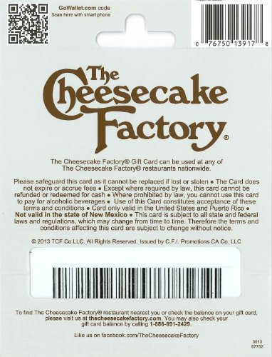 The 8 best cheesecake factory gift card