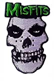 Misfits Skull Rock Punk Rock Heavy Metal Music Band Logo Jacket Vest Shirt Hat Blanket Backpack T Shirt Patches Embroidered Appliques Symbol Badge Cloth Sign Costume Gift