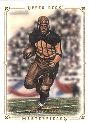 2008 Upper Deck Masterpieces Preview #MPP9 Red Grange - Football Card (Upper Deck Masterpieces)
