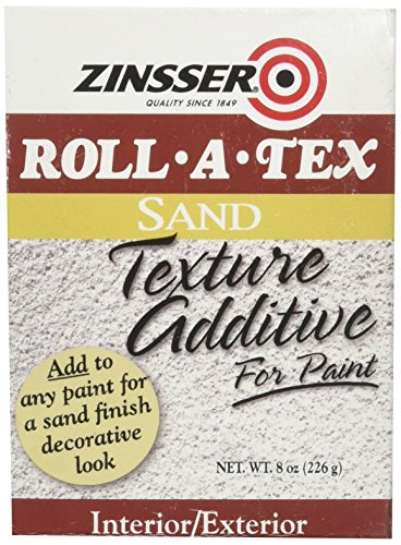 (RUST-OLEUM 57068 Zinsser Roll-A-Tex Sand Texture Additive, 8 Oz, Solid,)