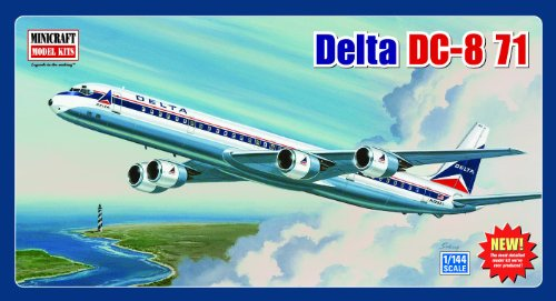 - Minicraft Models Delta DC-8-71 (Classic Livery) 1/144 Scale