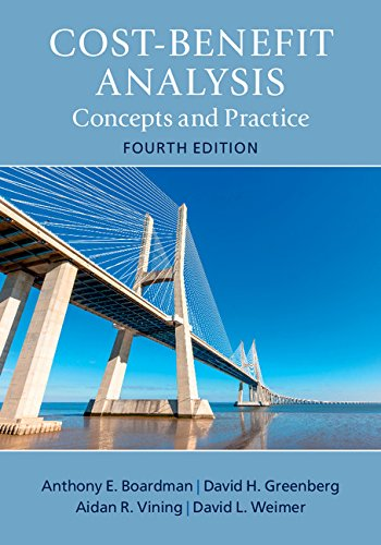 Amazon.com: Cost-Benefit Analysis: Concepts and Practice eBook : Boardman, Anthony E., Greenberg, David H., Vining, Aidan R., Weimer, David L.: Books