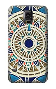 S0368 Compass Case Cover for Samsung Galaxy S5