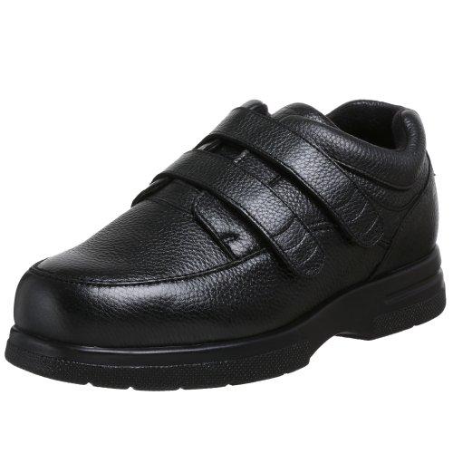 Drew Traveler (Drew Shoe Men's Traveler Velcro Walking Slip On,Black,13 4E US)