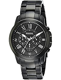 Men's FS4832 Grant Analog Display Analog Quartz Black Watch