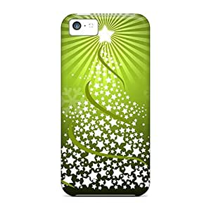 Durable Christmas Tree Back Case/cover For Iphone 5c by Maris's Diary