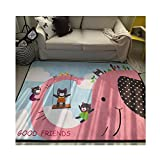 Korean Style Thicken Kids Rug - Educational Learning and Game Play Area Carpet For Baby 59 x 79 Inch