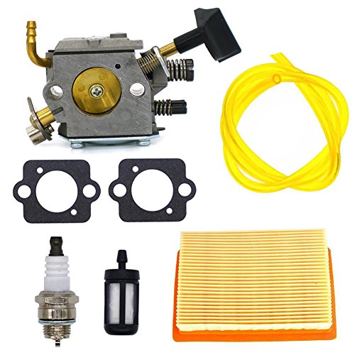 FitBest Carburetor with Air Filter Fuel Line Kit for Stihl BR320 BR340 BR380 BR400 BR420 4203-120-0603 4203-120-0605 Backpack Blower Carb by FitBest