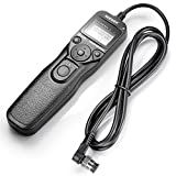 Neewer LCD Timer Shutter Release Remote Control Cord for Nikon D4s D4 D3 D3x D3s D810 D800 D800E D2 D2H D2Hs D2X D2Xs D1 D1H D1X D200 D300 D300x D300s D700