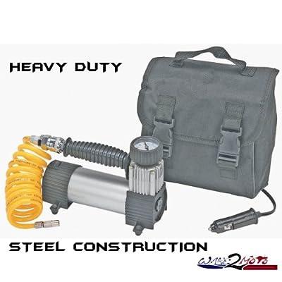 12V Volt Portable Air Compressor Tire Pump