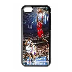 iPhone 5c Cell Phone Case Black ha13 air jordan face sports art Lhnny
