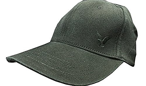 S/M - American Eagle Outfitters Black Signature Embroidered AE Logo Baseball Cap