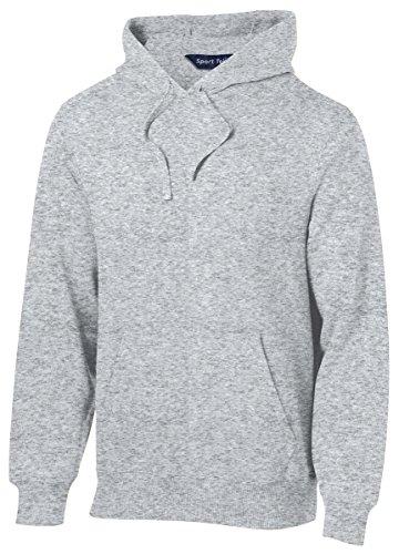 (Sport-Tek Men's Pullover Hooded Sweatshirt 3XL Athletic Heather)
