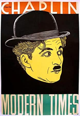 c1f3c51bc04d38 Modern Times Affiche du film Poster Movie Temps modernes (27 x 40 In - 69cm