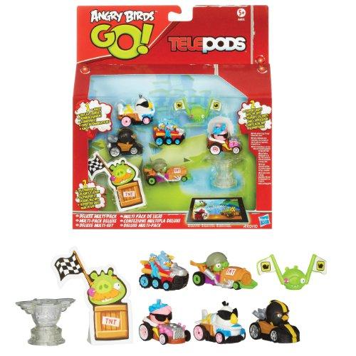 Angry Birds Go Mega Mayhem Pack (Angry Birds Go Pig Rock Raceway Telepods)