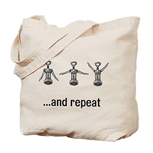 CafePress–Vino abierto y gamuza de repetición–lona bolso, bolsa de la compra