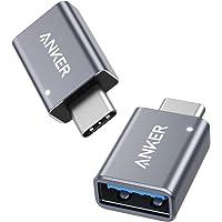 Anker USB-C naar USB-adapter, hoge-snelheid gegevensoverdracht, USB-C naar USB 3.0 Female Adapter, compatibel met…