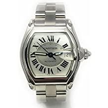 Cartier Roadster Swiss-Automatic Male Watch W62025V3 (Certified Pre-Owned)