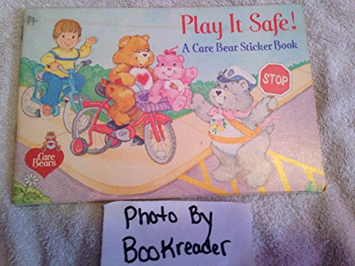 (1984 Pizza Hut Restaurant Care Bears Play It Safe Coloring and Sticker Book)