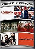 DVD : London Has Fallen / Triple 9 / Killer Elite Triple Feature