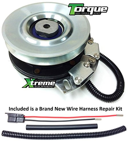 (Xtreme Outdoor Power Equipment Bundle - 2 Items: PTO Electric Blade Clutch, Wire Harness Repair Kit. X0390 Replaces Cub Cadet 917-04552 Electric PTO Blade Clutch - w/Harness Repair Kit)
