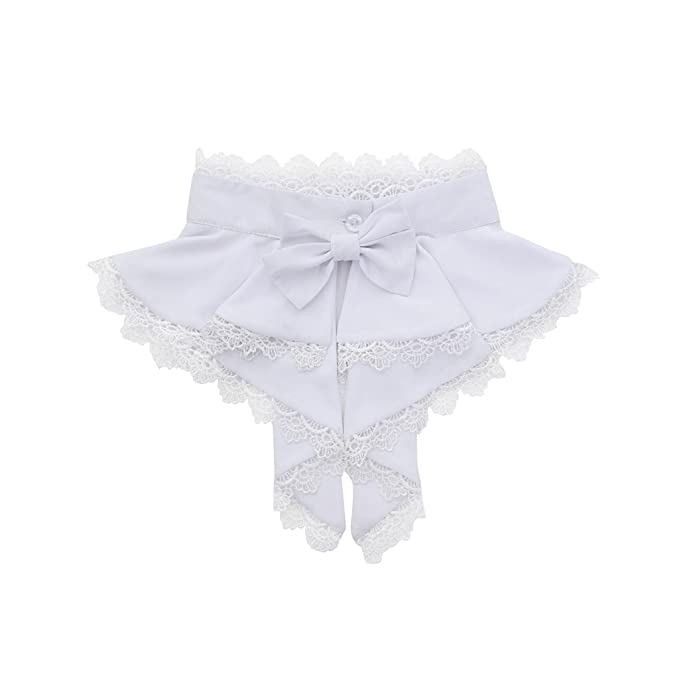 Victorian Blouses, Tops, Shirts, Sweaters 1791s lady Mens Victorian Steampunk Colonial Jabot Cravat Detachable Colla Necktie (White Stand Collar) $22.50 AT vintagedancer.com