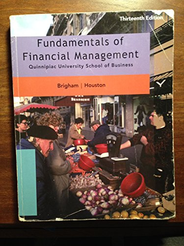 Fundamentals of Financial Management Thirteenth Edition