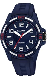 Calypso Watches Unisex Adult Analogue Classic Quartz Watch with Plastic  Strap K5760 2 4047d0f23f5