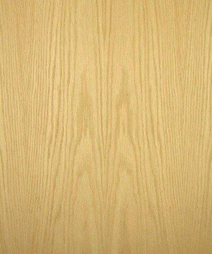 White Oak Wood Veneer, Flat Cut, Premium Grade, 4'x8' PSA Adhesive Back