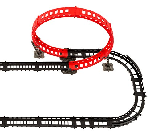 MMP Living Remote Control High Speed Race Track Set - Over 14' of Track, 2 Cars, 3 Track Designs