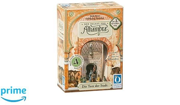 Queen Games 6031 Der Palast Von Alhambra 2. Erweiterung: Die Tore ...