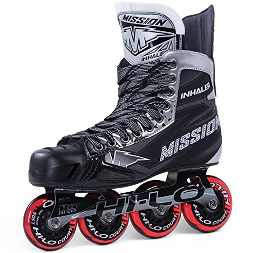 Bauer Mission Junior RH Inhaler Nls 05 Hockey Skate, Black, E 1.0 (Mission Hockey Ice Skates)