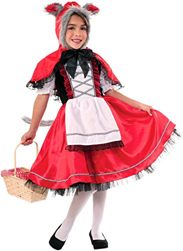 Little Red Riding Hood And Wolf Halloween Costumes (Forum Novelties Lil Red Riding Wolf Costume, Large)