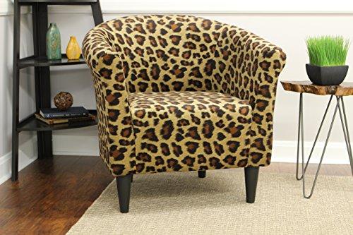Wildcats Bucket (Mainstays Marlee Animal Printed Bucket Accent Chair (Wildcat Animal Print))