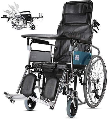 CHUNSHENN-High-Backrest-Full-Reclining-Wheelchair-Foldable-Toilet-Seat-for-The-Elderly-Suitable-for-The-Elderly-Disabled-Wheelchairs-for-Adults-Drive