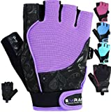 Best Gloves For Fitness Strengths - EMRAH Gym Weight Lifting Gloves Women Workout Fitness Review